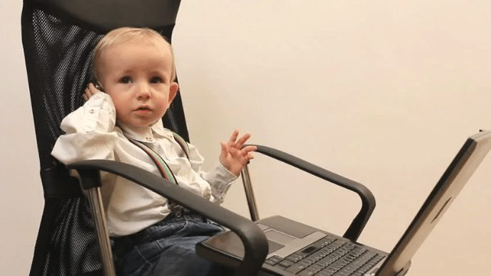 Perhaps an office chair for your little CEO?